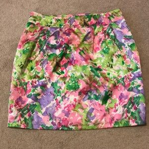 Colorful pastel skirt
